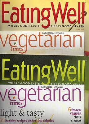 Revistas americanas comida
