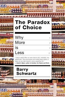 The paradoxe of choice