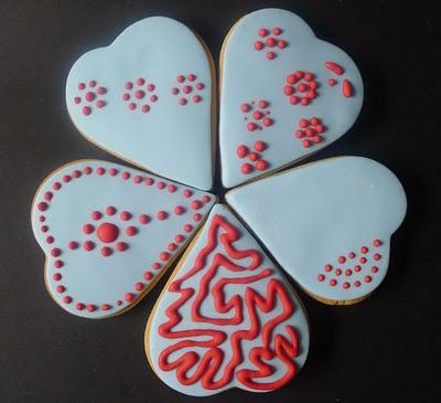 Galletas mantequilla San Valentin
