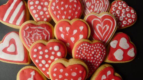 Galletas sin gluten San Valentín