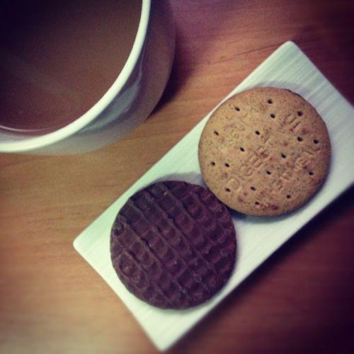 té con galletas