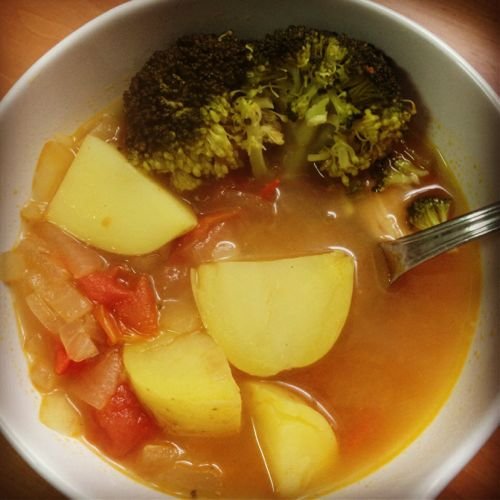 Sopa verduras invierno