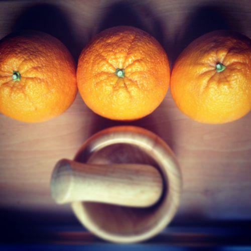 Naranjas gigantes