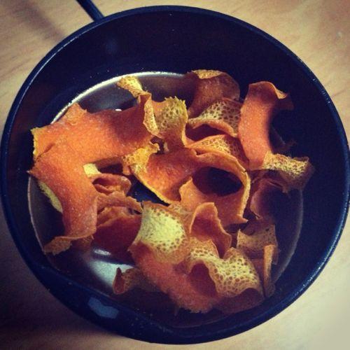 Piel de naranja seca