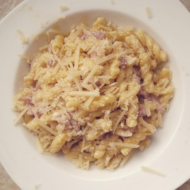 Un buen plato de pasta
