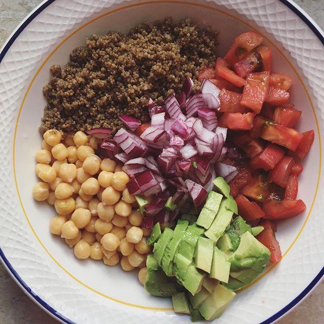 Enslada de quinoa integral
