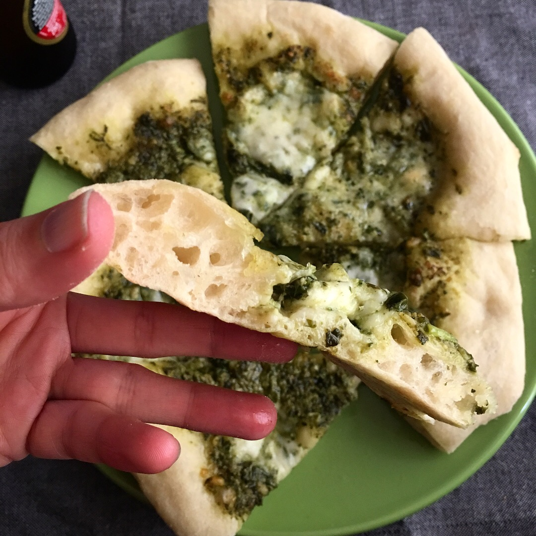 pizza_casera_pesto
