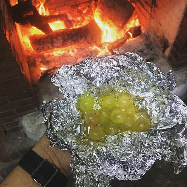 12 uvas y una hartá de calor, de la de la chimenea y de la del corazón, para despedir el 2017