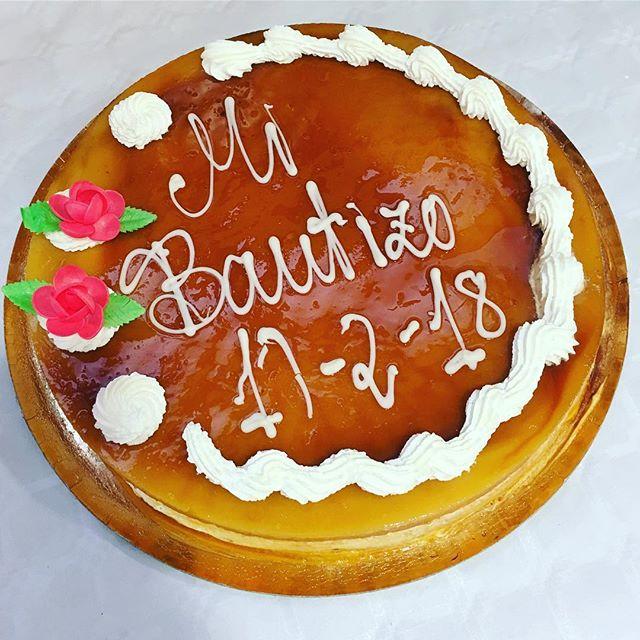 La tarta del bautizo de Leo