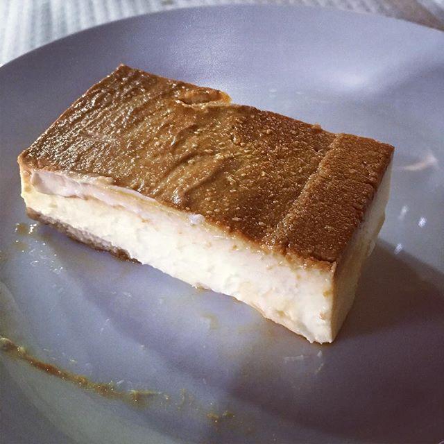 La tarta de queso @quescrem de Beira Miño